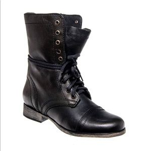Steve Madden Troopa Boots Black Size 9